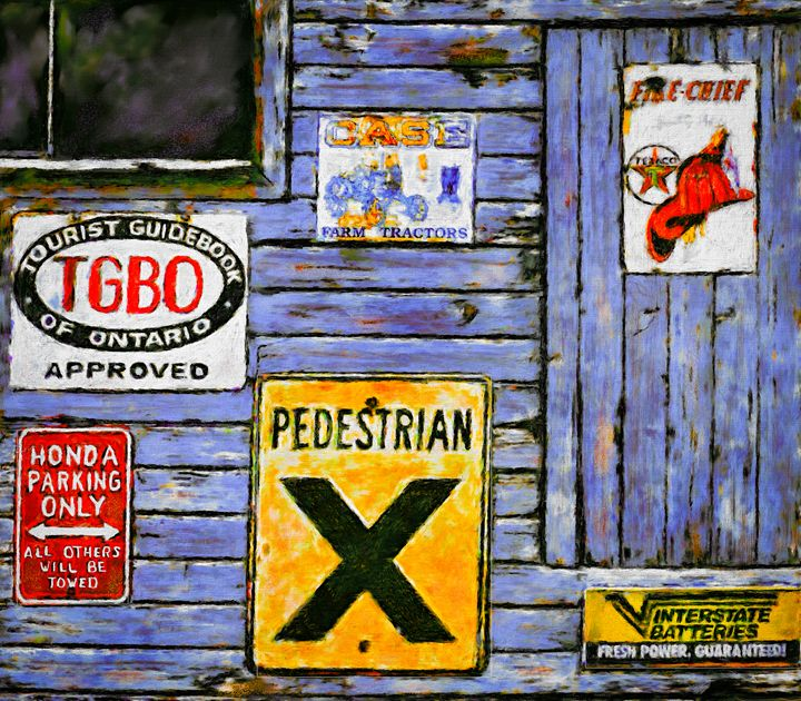 Signs of a Time - Wib Dawson Paintings
