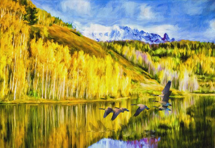 High Plains Autumn - Wib Dawson Paintings