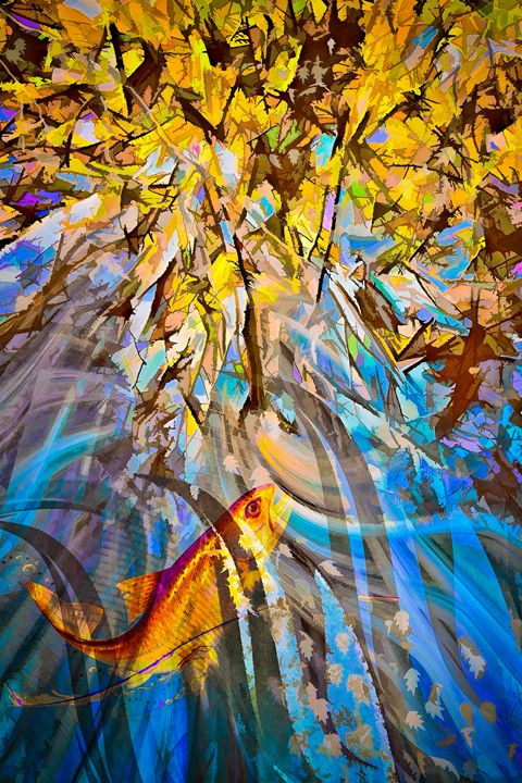 Trout Stream - Wib Dawson Paintings