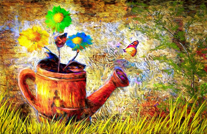 Transitions - Wib Dawson Paintings