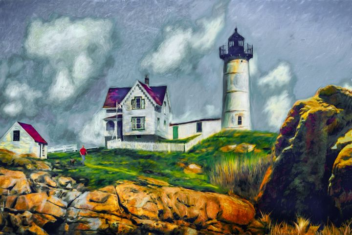 Light Upon A Hill - Wib Dawson Paintings