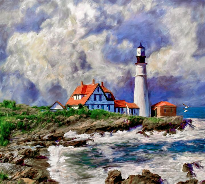 Gathering Storm - Wib Dawson Paintings