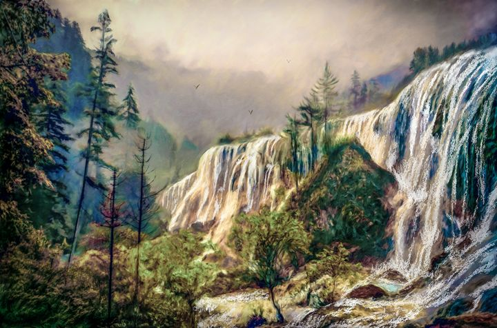Wilderness Thunder - Wib Dawson Paintings