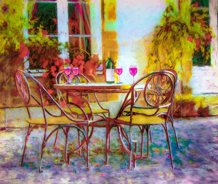 When Friends Meet - Wib Dawson Paintings