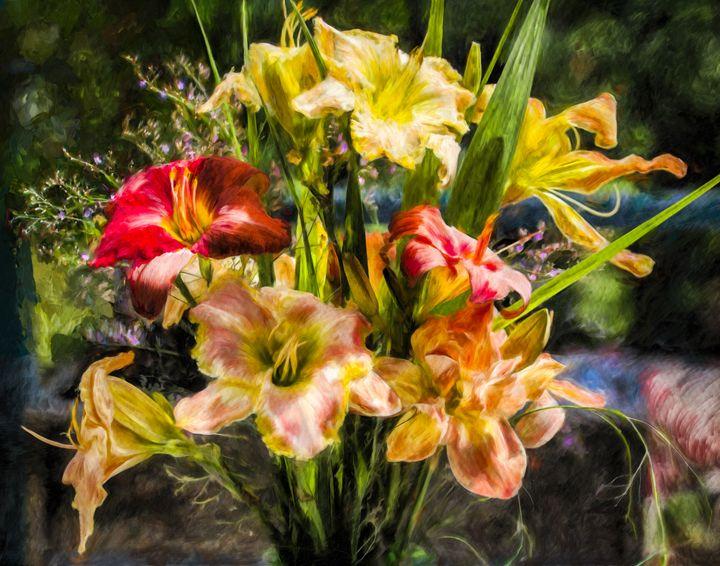 Summer Bouquet - Wib Dawson Paintings