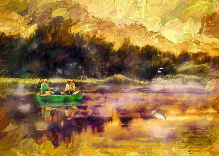 Once Upon A Morning - Wib Dawson Paintings