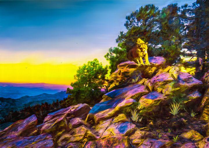 Morning Stroll - Wib Dawson Paintings