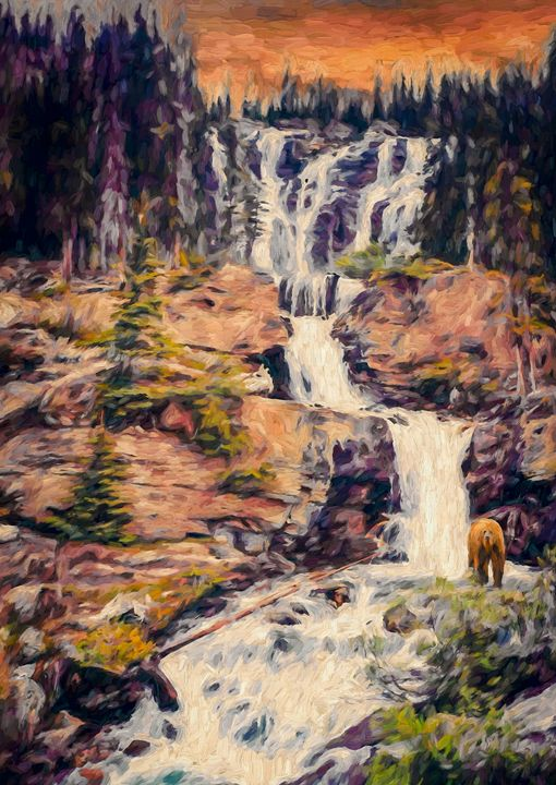Grizzly Ground - Wib Dawson Paintings
