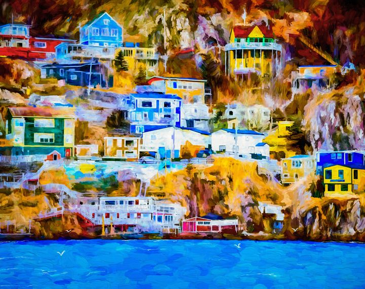High Society - Wib Dawson Paintings