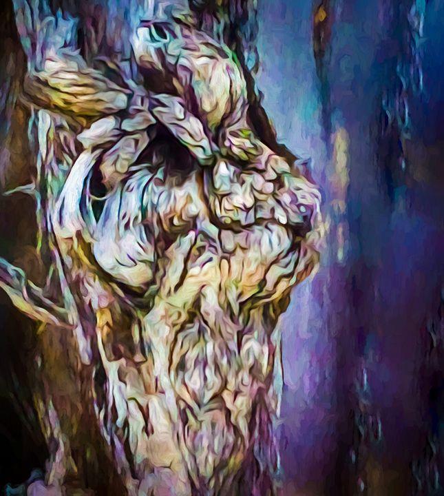Tree Face - Wib Dawson Paintings