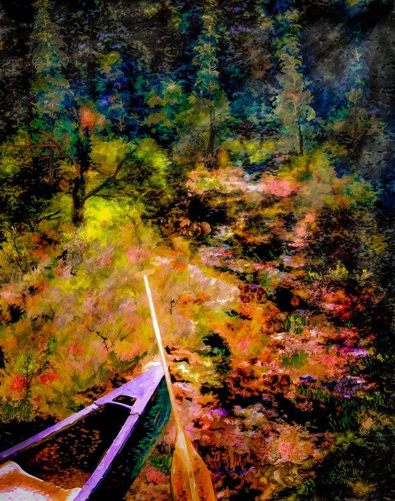 Portage - Wib Dawson Paintings