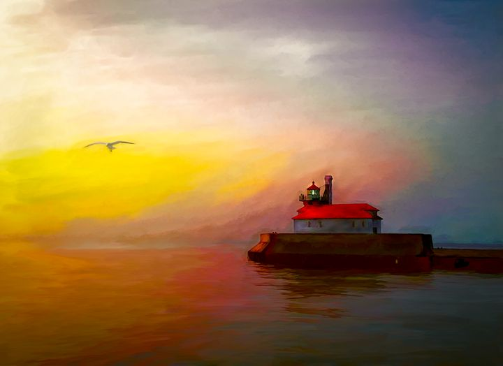 Duty Nearly Done - Wib Dawson Paintings