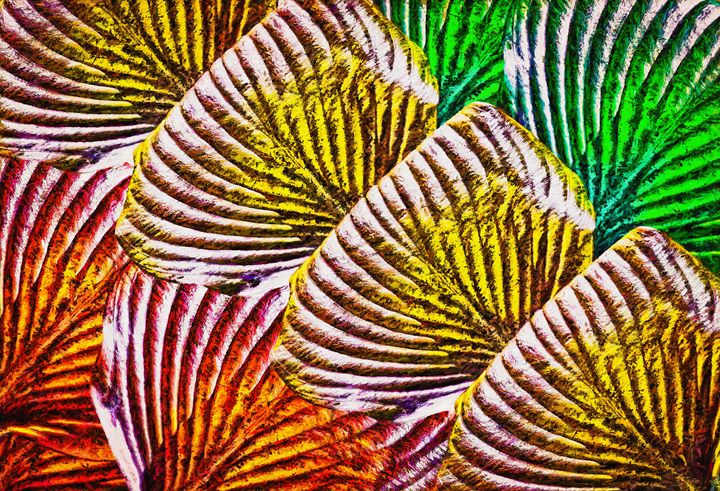 Hosta Huddle - Wib Dawson Paintings