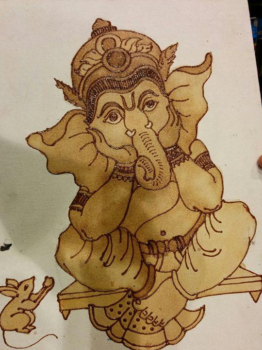 lord ganesha - shwetaarts