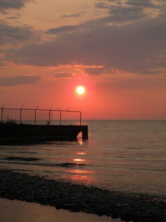 Pier at Avonia1 - Justina Marie