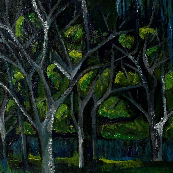Lakefront Trees - Liz Bronson