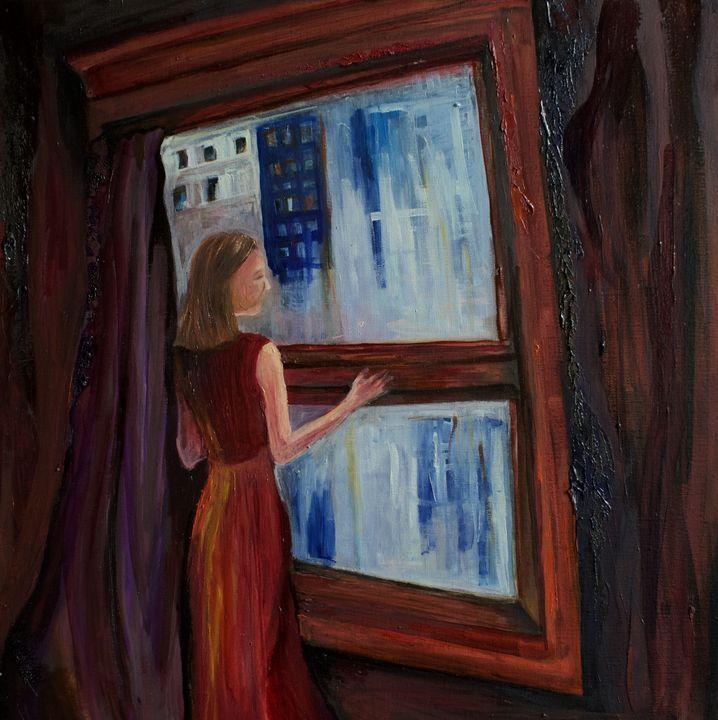 Red Window - Liz Bronson