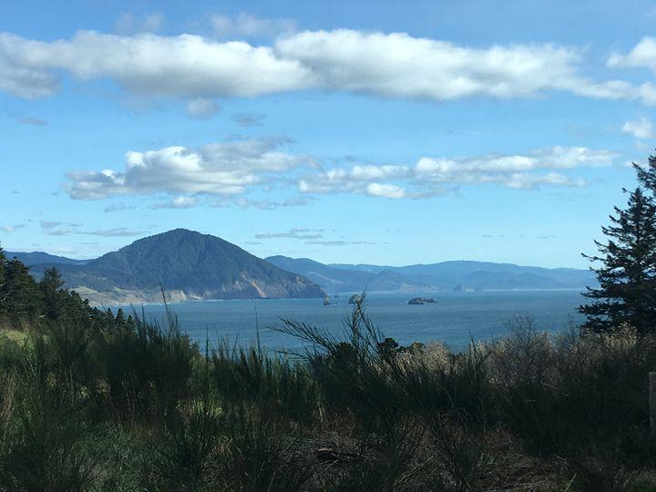 Oregon coastline - ABSTRACTIONS