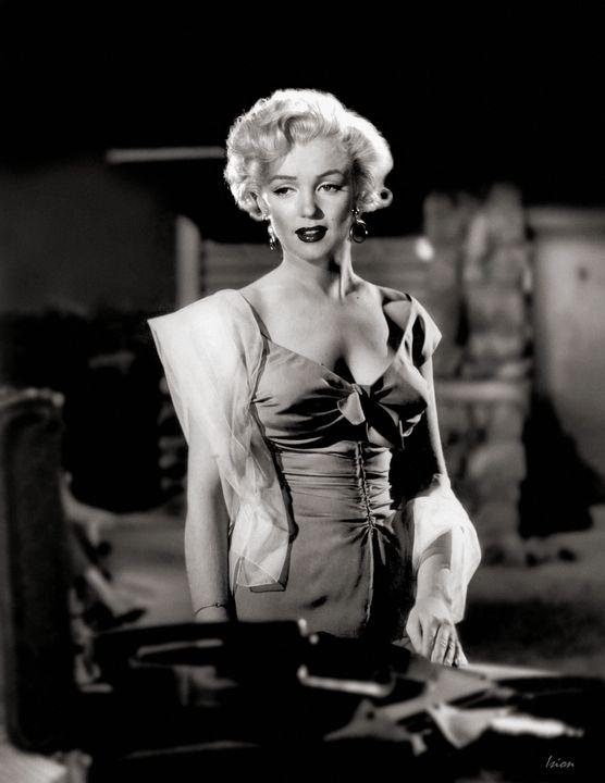 "Marilyn Monroe - ""Eternal Night"" - Ision Fantasy Artworks"