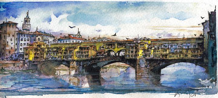 Ponte Vecchio - Randy Sprout Fine Art