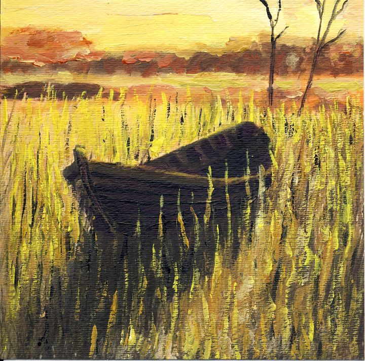 Old Wooden Boat Finland - Randy Sprout Fine Art