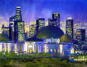 Griffith Observatory Nocturne
