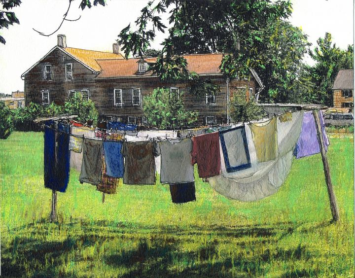 Amana Laundry - Randy Sprout Fine Art