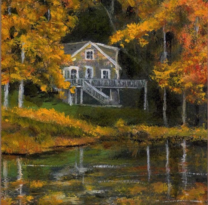 Carol's House - Randy Sprout Fine Art