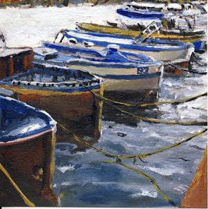 Fishing Boats in Procida