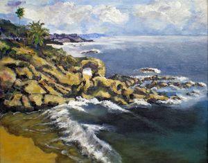 Key Hole Arch Laguna Beach
