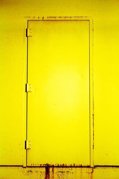 Yellow Door - Joey A. Poynor