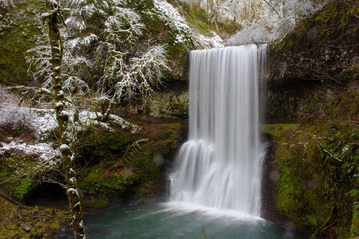 Lower South Falls - Joey A. Poynor