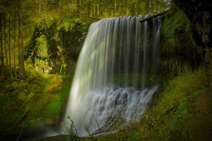 Middle North Falls - Joey A. Poynor
