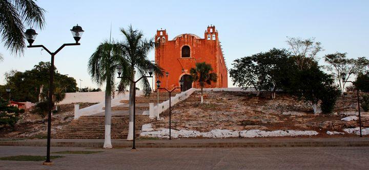 Church in Santa Elena, Yucatan - Joey A. Poynor