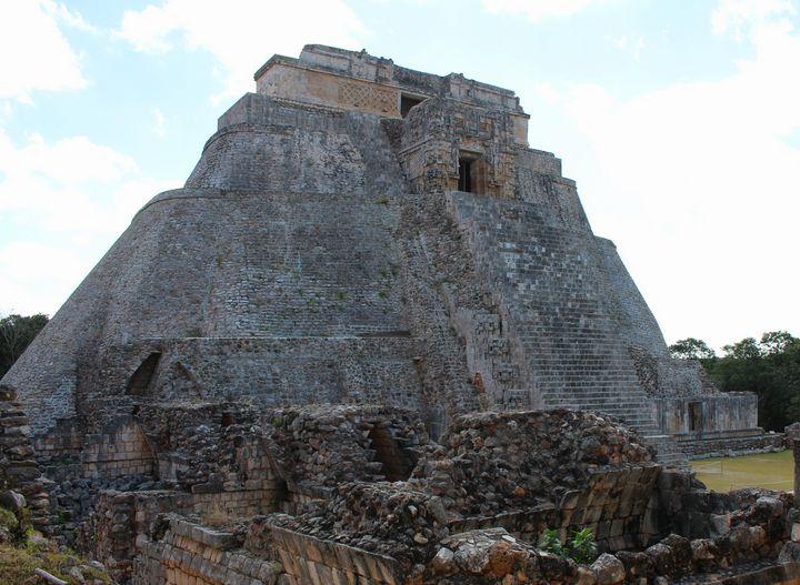 Pyramid at Uxmal - Joey A. Poynor