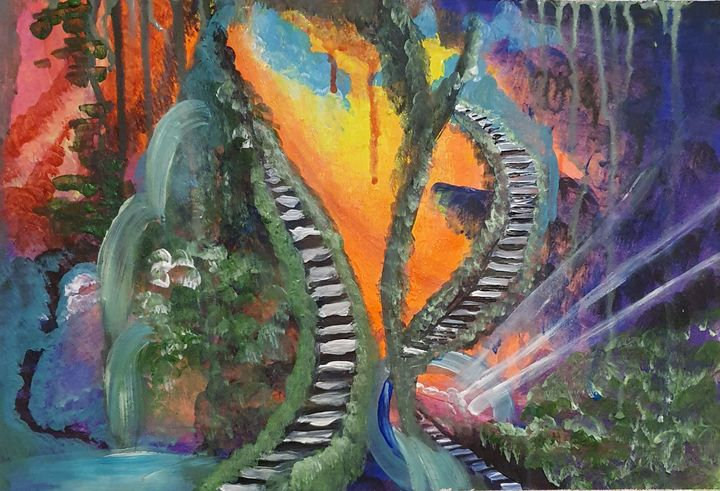 Mystical Landscape - Samantha Wilson