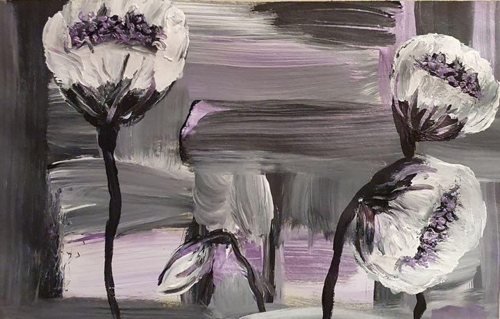 Metallic Flowers - Samantha Wilson