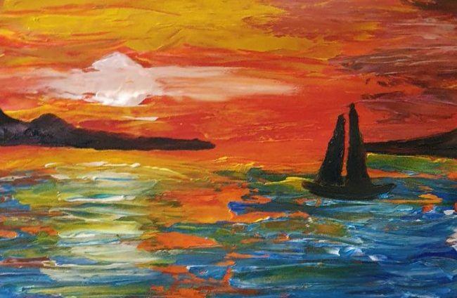 Contemporary Sea Boat - Samantha Wilson