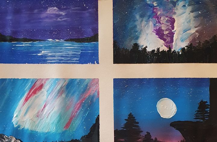 4 night skys - Samantha Wilson