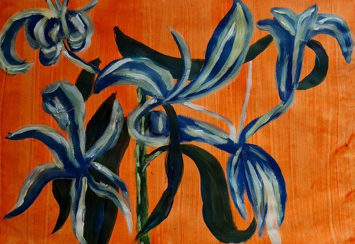 Dead lilies - Samantha Wilson