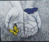 Original painting butterflies