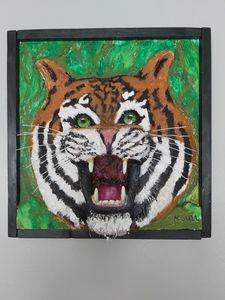 Growling tiger - KSULL2019
