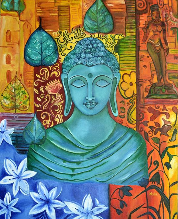 The Mystic Buddha - Nidhi's Exquisite creations