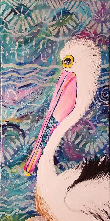 Pelican supper - Vero Beach Ecclectic