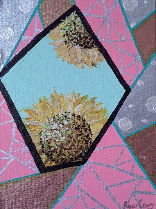 Peekaboo sunflower mini - Vero Beach Ecclectic
