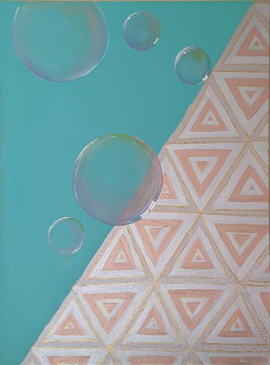 bubble pyramid - Vero Beach Ecclectic