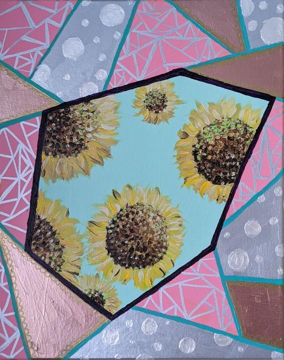 Peekaboo sunflower - Vero Beach Ecclectic