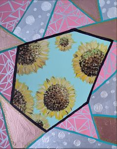 Peekaboo sunflower