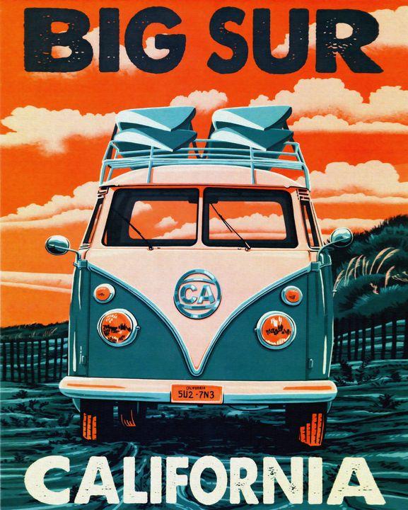 Big Sur California - The Graphic Guru