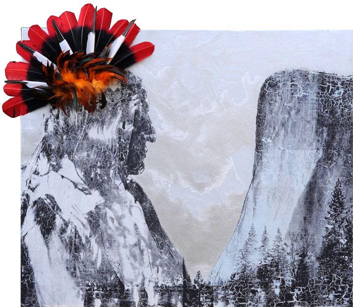 Red Owl-Arapaho and The Captain - Stephane Korb Art